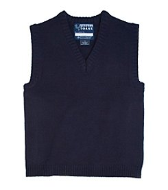 French Toast® Boys' 4-20 V-Neck Sweater Vest
