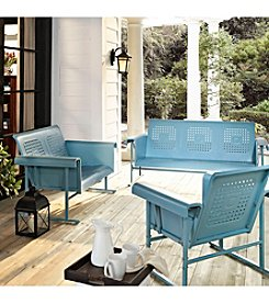Crosley Furniture Caribbean Blue Veranda Glider