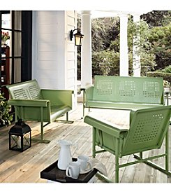 Crosley Furniture Oasis Green Veranda Glider