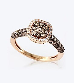 Effy® .92 ct. t.w. Diamond Ring in 14K Rose Gold