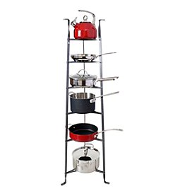 Enclume  6-Tier Hammered Steel Cookware Stand