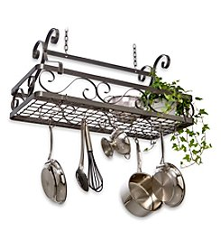 Enclume Décor Basket  Large Hanging Pot Rack