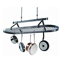 Enclume Oval Hanging Pot Rack with Grid
