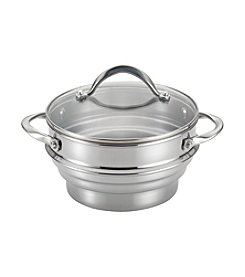 Circulon® Stainless Steel Universal Steamer with Lid