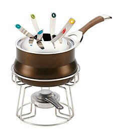 Circulon® Symmetry Bronze Hard-Anodized Nonstick  Fondue Set