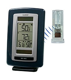 La Crosse Technology® Solar Powered Temperature Station with Solar Sensor