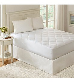 Premier Comfort Quiet Nights 300-Thread Count Waterproof Mattress Pad