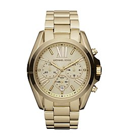 Michael Kors® Goldtone Bradshaw Chronograph Watch