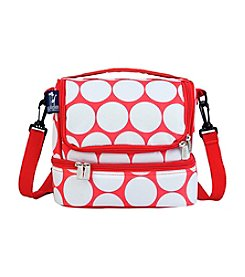 Wildkin Big Dot Red and White Double Decker Lunch Bag