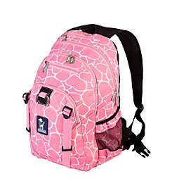Wildkin Pink Giraffe Serious Backpack