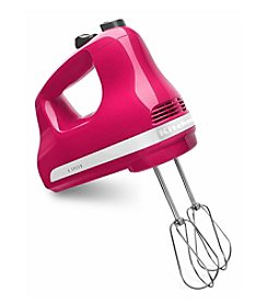 KitchenAid® KHM512CB 5-Speed Cranberry Ultra Power Hand Mixer