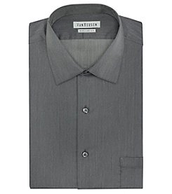 Van Heusen® Men's Long Sleeve Herringbone Pattern Dress Shirt