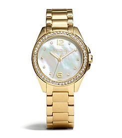 COACH WOMEN'S 32mm GOLD TRISTEN BRACELET WATCH