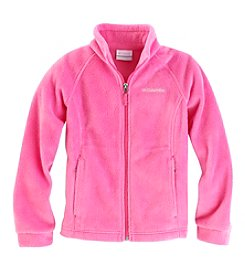 Columbia Girls' 2T-16 Benton Springs™ Solid Fleece Jacket