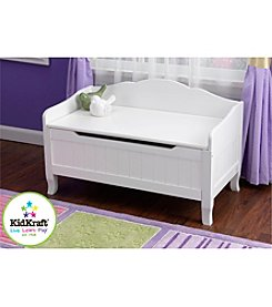 KidKraft White Nantucket Toy Box