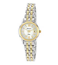 Armitron Women's Round Two-Tone Bracelet Watch