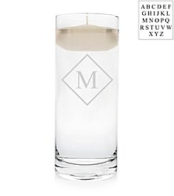 Cathy's Concepts Personalized Diamond Monogram Floating Unity Candle