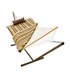 Algoma Hammocks Rope, Stand, Pad and Pillow Combo