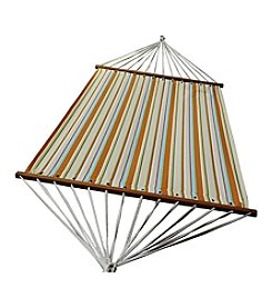 Algoma Hammocks 13-ft. Orange Stripe Olefin Hammock