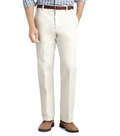 IZOD® Men's American Straight-Fit Flat Front Chinos
