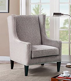 Madison Park® Belmont Gray Accent Chair