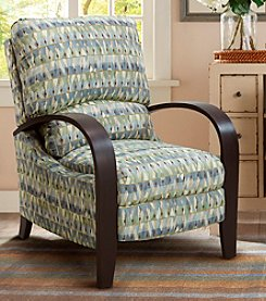 Madison Park® Archdale Blue Print Recliner