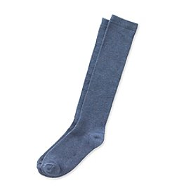 Relativity® Denim Knee High Socks