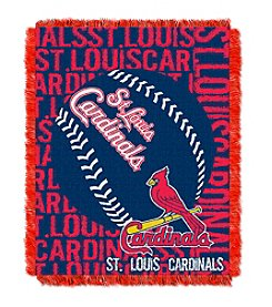 MLB® St. Louis Cardinals Jacquard Throw