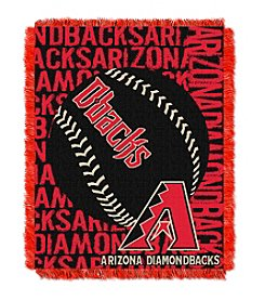 MLB® Arizona Diamondbacks Baseball Jacquard Throw