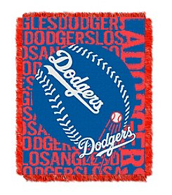 MLB® Los Angeles Dodgers Jacquard Throw