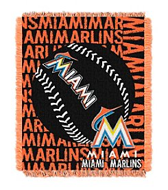 MLB® Miami Marlins Jacquard Throw