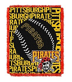 MLB® Pittsburgh Pirates Jacquard Throw