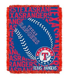 MLB® Texas Rangers Jacquard Throw