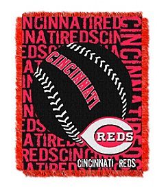 MLB® Cincinnati Reds Jacquard Throw