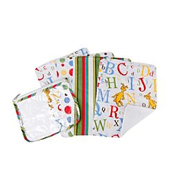 Trend Lab Dr. Seuss ABC Burp Cloth and Pouch Set