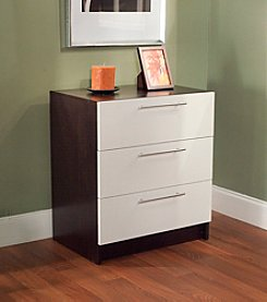 Target Marketing Systems 3-Drawer Contemporary Chest