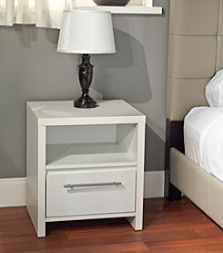Target Marketing Systems 1-Drawer Contemporary Night Stand