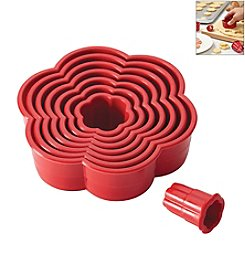 Cake Boss® Decorating Tools 8-pc. Red Nylon Daisy Fondant and Cookie Cutter Set