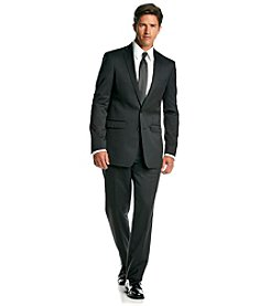 Calvin Klein Men's Black Extreme Slim Fit 2-Piece Suit