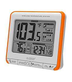 La Crosse Technology® 308-179OR Wireless Temperature Station with Trends & Alerts