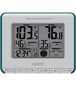 La Crosse Technology® 308-1711BL Wireless Weather Station with Heat Index & Dew Point