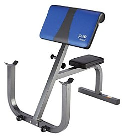 Pure Fitness® Preacher Curl Bench