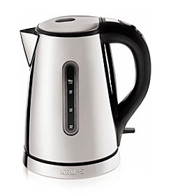Krups® Signature Series Stainless Steel Electric  Kettle
