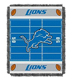 NFL® Detroit Lions Baby Jacquard Field Throw