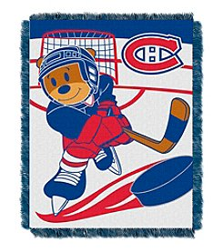 NHL® Montreal Canadiens Baby Jacquard Score Throw