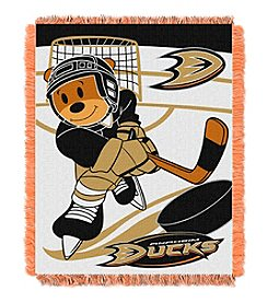 NHL® Anaheim Ducks Baby Jacquard Score Throw