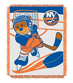 NHL New York Islanders Baby Jacquard Score Throw