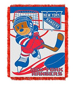 NHL® New York Rangers Baby Jacquard Score Throw