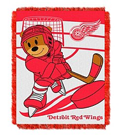 NHL® Detroit Red Wings Baby Jacquard Score Throw