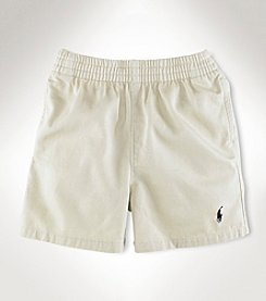 Ralph Lauren® Baby Boys' Cotton Twill Sport Shorts